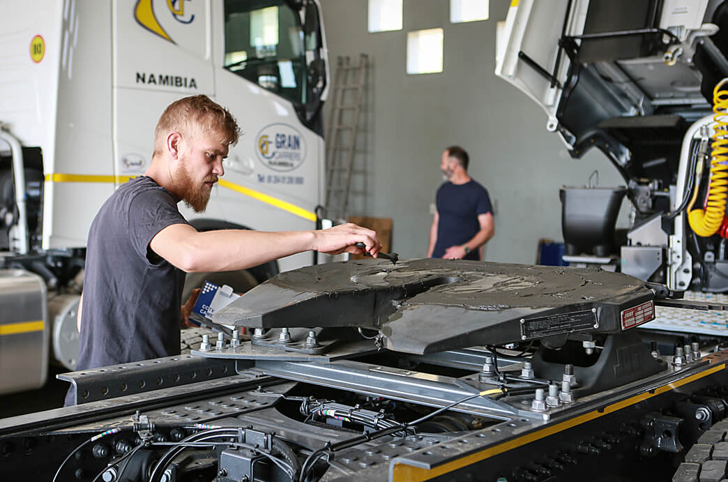 Grain Carriers Namibia Truck Maintenance
