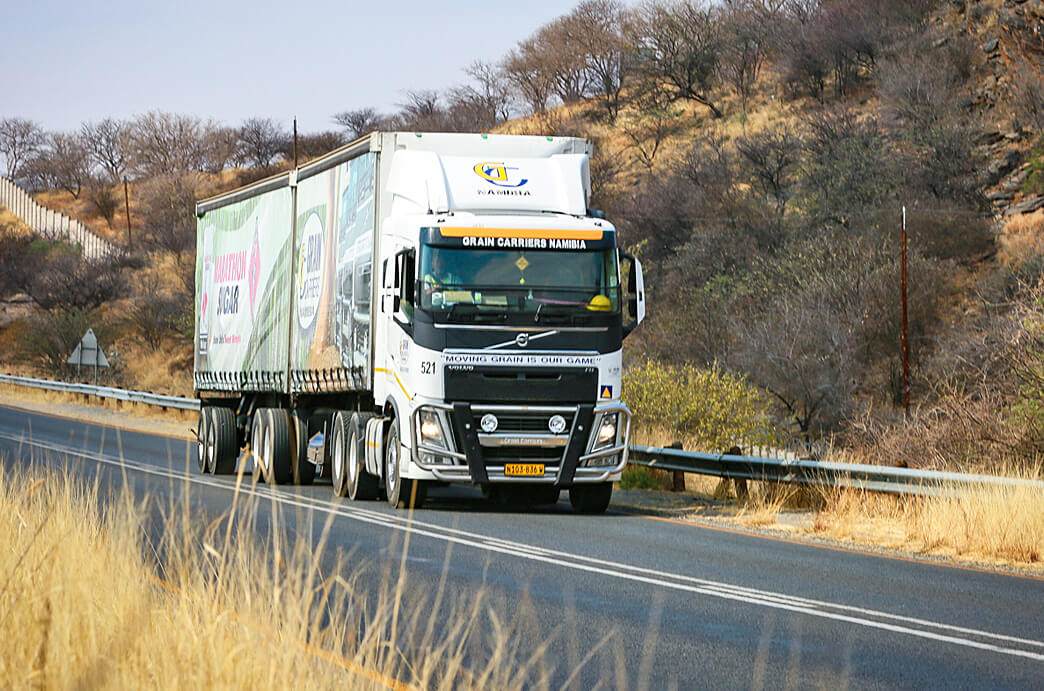 Grain Carriers Namibia Truck Moving
