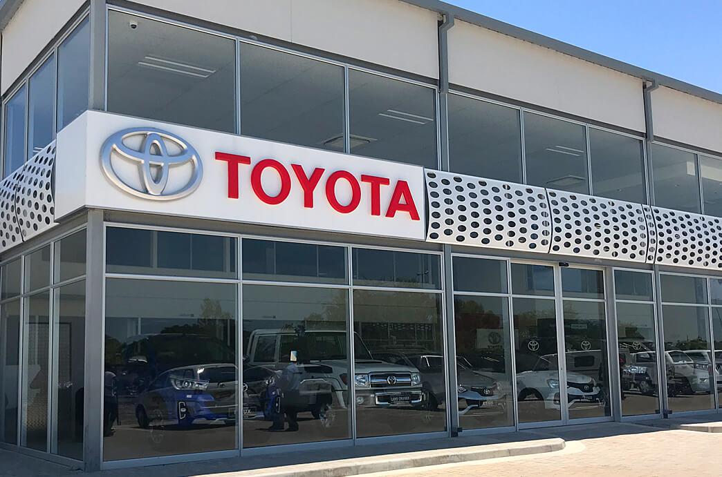 Indongo Toyota Showroom Oshakati