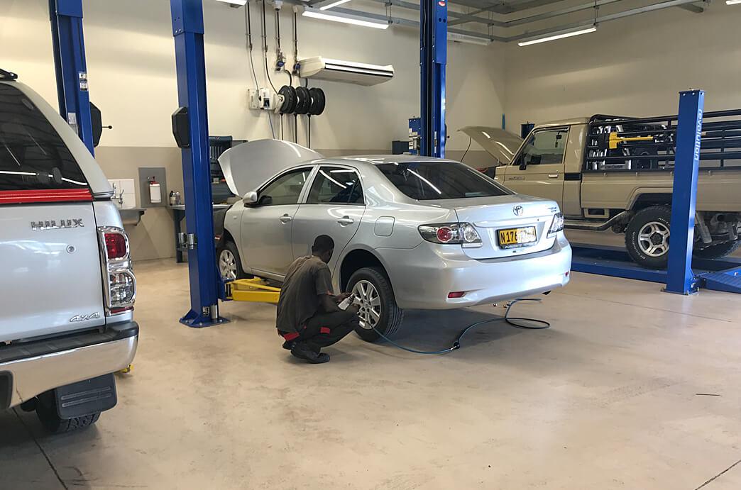 Indongo Toyota Workshop
