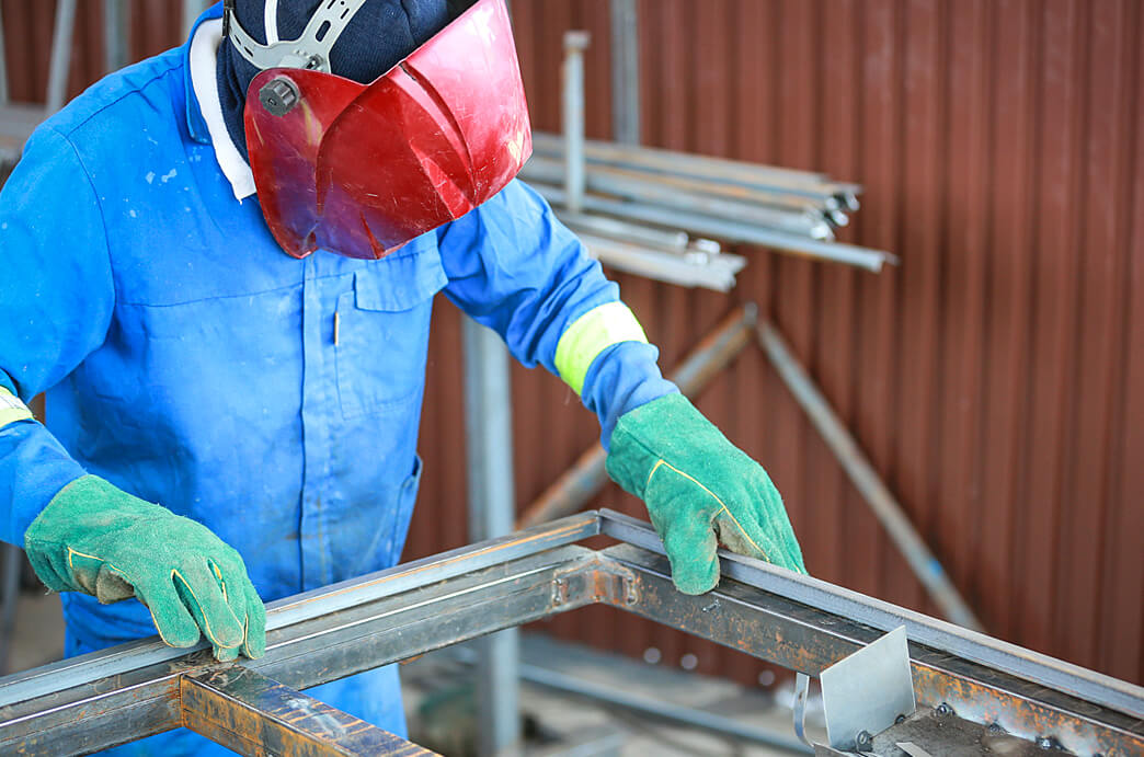 RM Wispeco Window Frame Welding
