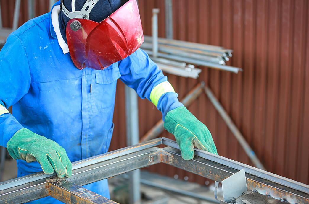 RM Wispeco Window Frame Welding
