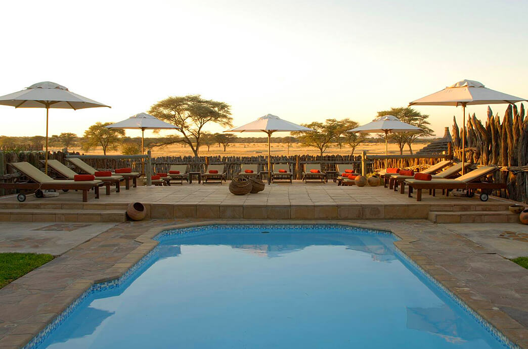 Indongo Lodge Pool