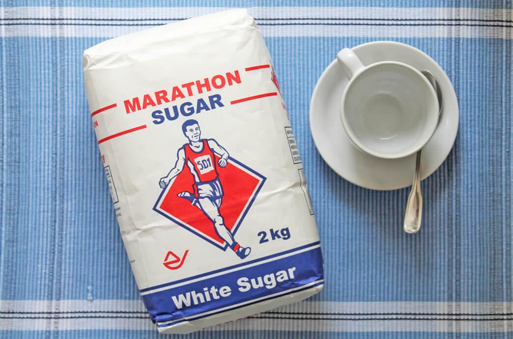 Marathon Sugar White Pack from Top